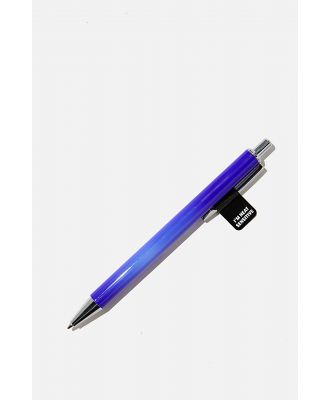 Typo - Colour Changing Pen - Blue with white