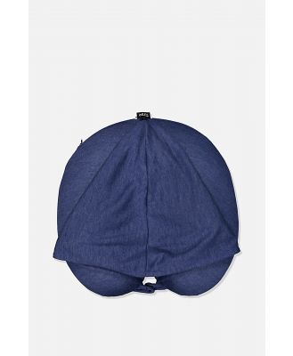 Typo - Hooded Travel Neck Pillow - Navy