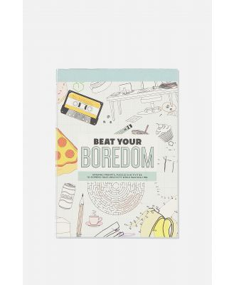 Typo - Post Card Colouring Book - Beat your boredom