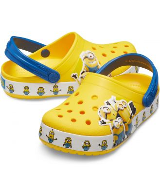 Crocs Kids' Crocs Fun Lab Minions Multi Clog Yellow