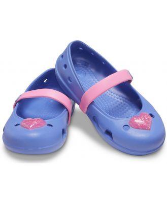 Crocs Kids' Crocs Keeley Embellished Flat Blue