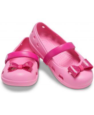 Crocs Kids' Crocs Keeley Embellished Flat Pink