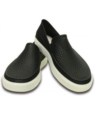 Crocs Men's CitiLane Roka Slip-On Black