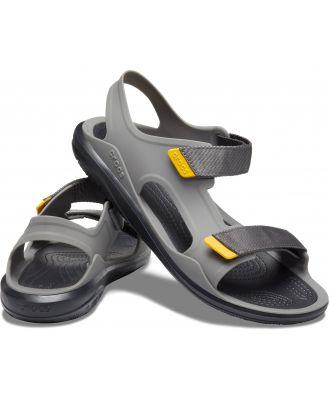 Crocs Men's Swiftwater Expedition Sandal Slate Grey/Black