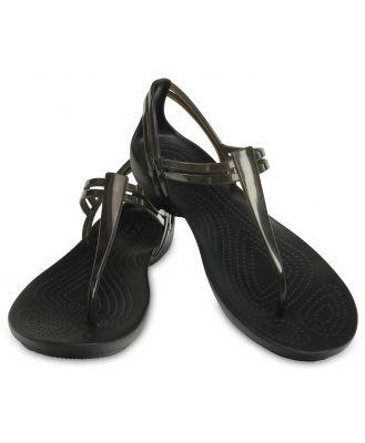 Crocs Women's Crocs Isabella T-Strap Sandal Black