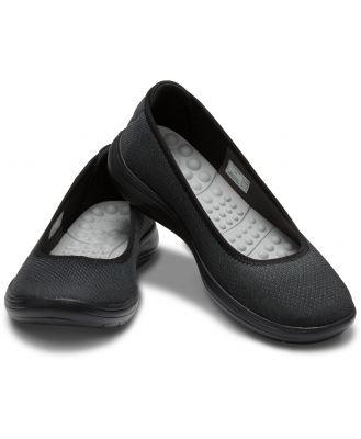 Crocs Women's Crocs Reviva Flat Black