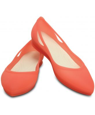 Crocs Women's Rio Flat Coral / Oyster