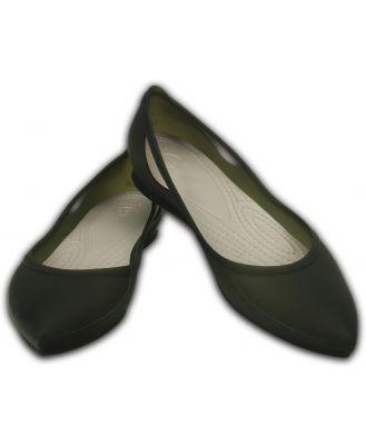 Crocs Women's Rio Flat Grey