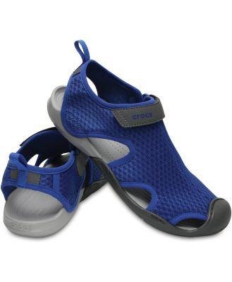 Crocs Women's Swiftwater Mesh Sandal Blue Jean