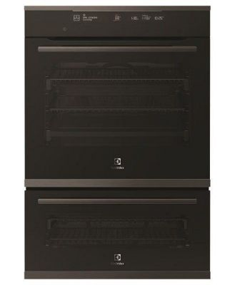 Electrolux 60cm Multifunction Duo Oven - Dark Stainless Steel