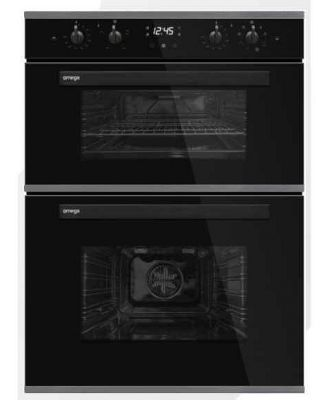 Omega 60cm Built-in Electric Double Oven