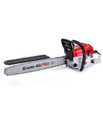 Baumr-AG 22 E-Start Commercial Petrol Chainsaw Pro Series - SX75