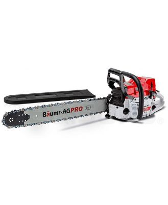 Baumr-AG Petrol Commercial Chainsaw 24 Bar E-Start Chain Saw Pruning