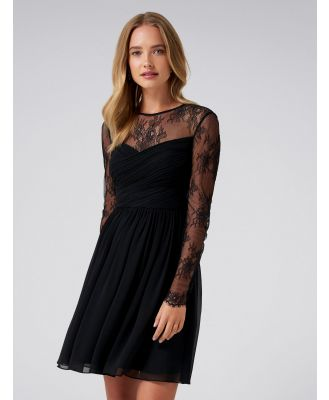 Lilly Lace Soft Prom - Black
