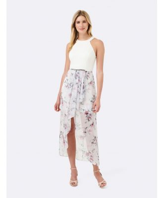 Lizzie 2 in 1 Maxi Dress - Lilac Floral Print