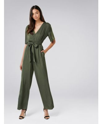 Paige Jumpsuit - Agave Green