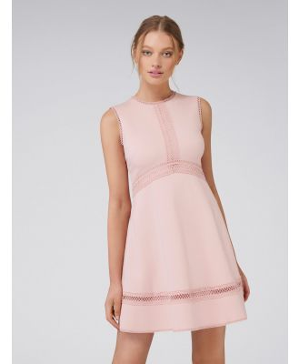 Penny Ponte Dress - Rouge Rose