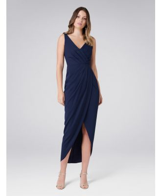 Victoria Wrap Dress - Maritime Blue