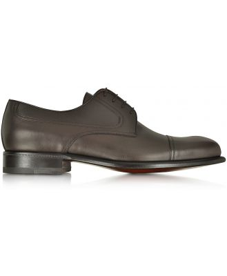 A.Testoni Designer Shoes, Alo Leather Derby Shoe