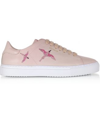 Axel Arigato Designer Shoes, Clean 90 Bird Dusty Pink Leather Women's Sneakers