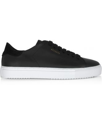Axel Arigato Designer Shoes, Clean 90 Black Leather Women's Sneakers