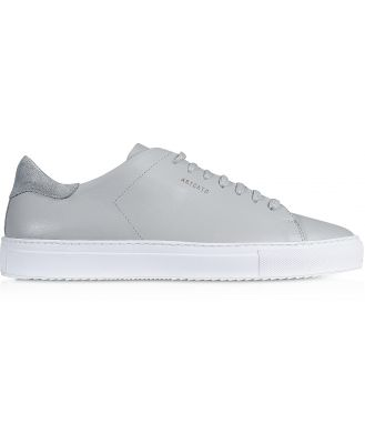 Axel Arigato Designer Shoes, Clean 90 Light Grey Leather Men's Sneakers