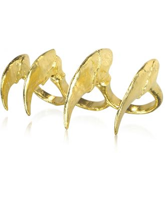 Bjorg Designer Rings, Howling at the Moon - Knuckle Claw Ring