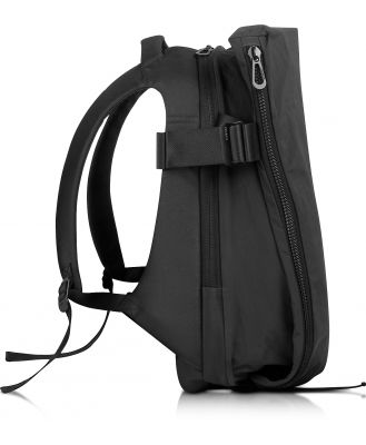 Côte & Ciel Designer Backpacks, Isar Medium Black Memory Tech Backpack