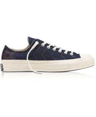 Converse Limited Edition Designer Shoes, Obsidian Chuck 70 Rainbow Low Top