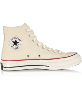 Converse Limited Edition Designer Shoes, Parchment Chuck 70 Classic High Top Unisex Sneakers