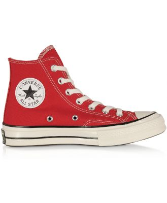 Converse Limited Edition Designer Shoes, Red Chuck 70 w/ Vintage Canvas High Top