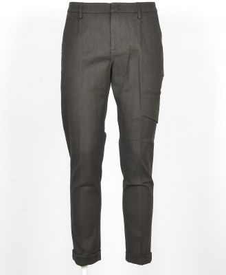 Dondup Designer Pants, Men's Black Pants