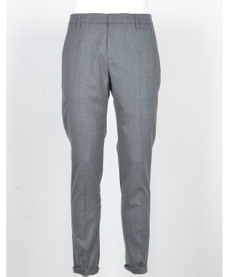 Dondup Designer Pants, Men's Gray Pants