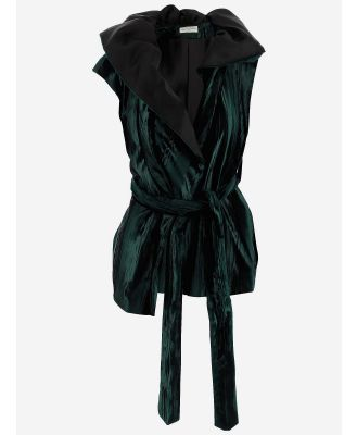 Dries Van Noten Designer Coats & Jackets, Women's Vest Coat w/Belt