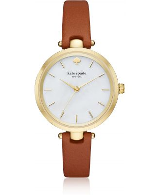 Kate Spade New York Designer Women's Watches, Holland Luggage Skinny Strap Women's Watch