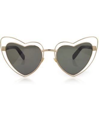 Saint Laurent Designer Sunglasses, SL 197 Louluo Heart Metal Women's Sunglasses