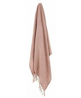 Iva Throw 130x150cm Terracotta (D) by Freedom