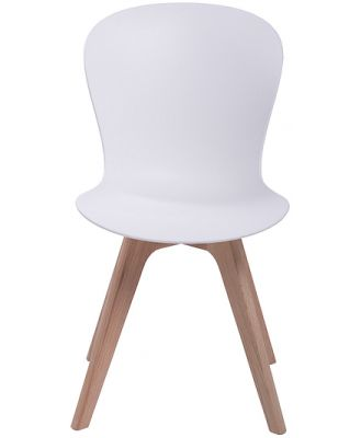 Shadow Dining Chair White / Natural by Freedom
