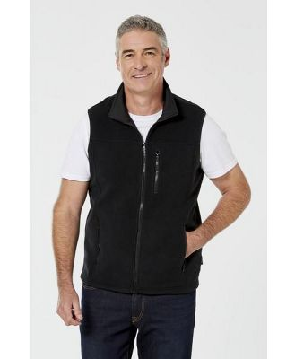 Bronson Casual Bcas Campsie Polar Fleece Vest Black L