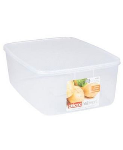 Decor Tellfresh Plastic Oblong Food Storage Container 10L