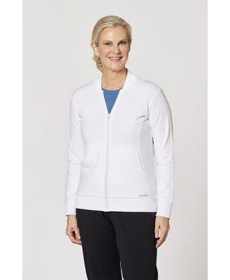 Diadora Womens Fleece Zip Thru Jacket