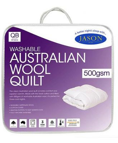 Jason Australian Wool Quilt 500G Nc