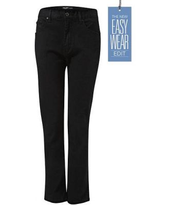 Jeans Ltd Mens Slim Fit Stretch Black Denim Jeans