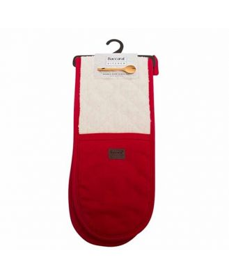 Baccarat Kitchen Double Oven Glove Red