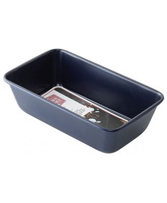 Bakers Delight Cuisson Carbon Steel Non Stick Loaf Tin 23cm Navy