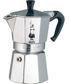Bialetti Moka Express Espresso Maker 4 Cup