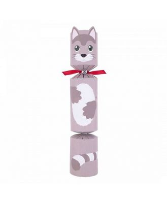 Celebration Crackers Christmas Cat Cracker with Rope Mouse