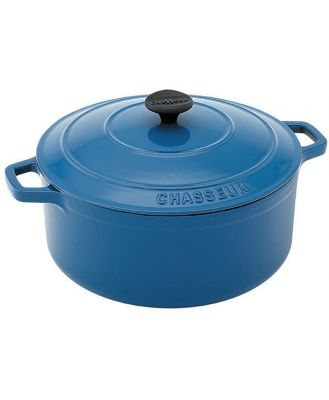 Chasseur Round French Oven 24cm/3.8L Sky Blue