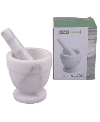 D.Line Mortar and Pestle 10cm Marble