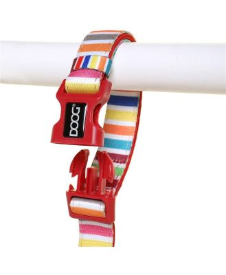 Doog Scooby Clip It Canvas Dog Lead Candy Striped